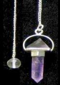 Amethyst Energy Pyramid Pendulum