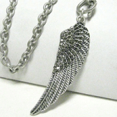 Angel of Protection Vintage Necklace
