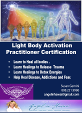 Light Body Practitioner Certification