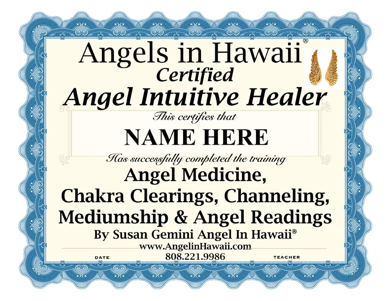 Angel Intuitive Practitioner Certification