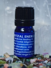 Crystal Energy Medicinal Healing Essential Oil